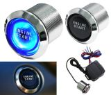 Illuminated Car Engine Start Push Button Switch Ignition Starter Touch Kit