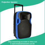 Newest Portable Trolley Video LED Projector Speaker