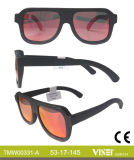 Fashionable Handmade Wooden and Bamboo Sunglasses with Ce and FDA (331-A)