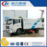 4 Brush Road Cleaning Sweeping Machine Truck