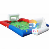 Inflatable Football Court Sports Game with Ce Blower