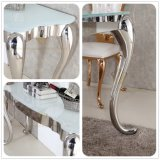 White Glass Modern Console Table Home Furniutre