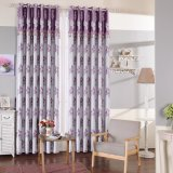 Modern European Style Jacquard Blackout Window Curtain (02F0028)