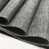 200d Cation Jacquard PU Coated Oxford Fabric Linen Type Cloth for Luggages / Bags/Furniture