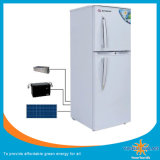 Two Door Large Cubage Solar Refrigerator with Solar Panel Charging