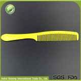 16cm Yellow Plastic Disposable Hotel Comb with Long Handle