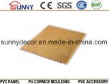 Wooden Transfer Printing PVC Ceiling Wall Panels, Plastic Panel, Cielo Raso De PVC