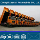 40cbm U Type Tipping Vehicle Tipper Dump Heavy Truck