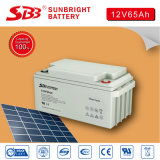 12V65ah Rechargeable UPS Deep Cycle Battery