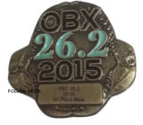 Obx Badge with Antique Bronze Plated 2