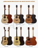 Wholesale High End Musical Instruments Top Solid Acoustic Guitar