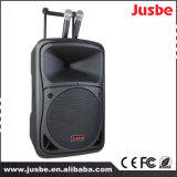 Bas1545p Portable Powered Trolley DJ Speaker with Bt/ FM/ USB/TF
