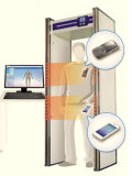 2017 Hot Sale Security Metal Detector Walk Through Scanner Door for Checking Phone
