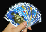 Transferant PVC Plastic Playing Cards Game of Submarine World