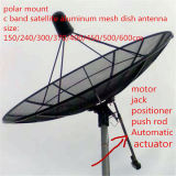 4 6 8 10 12 14 16 20feet 3m 3.7m 4m 5m HD Digital TV GSM GPS Wireless Mobile C Band Satellite Aluminum Mesh Dish Parabolic Antenna
