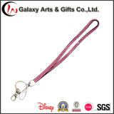 Custom Colorful Crystal Lanyard with Clasp Clip