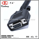 9 Pin Automotive Connector Wire Harness