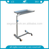 AG-Ss008A with One Post Height Adjustable Tray Stand