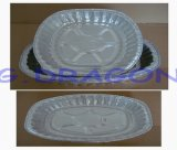 Aluminum Foil Pan Used in Freezer, Oven, Steaming (AFC-008)