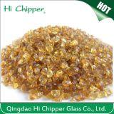 Amber Engineered Stone Glass Chips