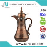 ABS Arabic Antique Copper Turkish Coffee Pot with Glass Liner.