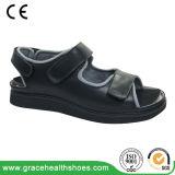 Nappa Leather Upper Wide & Deep Toe Box Comfort Diabetic Sandal Orthopedic Shoes