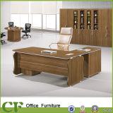 OEM Design Curved Melamine Manager Office Table
