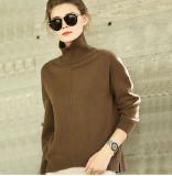 Women′s Cashmere Sweater Turtle Neck 16brdw009