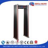 18 zones Metal Detector AT-IIID Door frame Metal Detector for indoor use