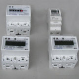 35mm Standard DIN Rail Mounted Watt-Hour Meter with Pulse Output