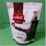Custom Stand up Plastic Zipper Bag for Tea Package