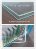 4mm Tempered/ Toughened Extra White Float Solar Thermal Glass
