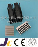 Machining Aluminium Heat Sink, Heat Sink with Drilling Hole (JC-P-82030)