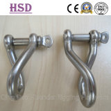Ss316 Twisted Shackle, Nickel 10%-12%, Ss304 Shckle Nickel 8%-10%