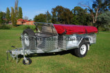 Galvanized Steel Checker Plate Camping Trailer RC-CPT-07