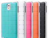 Rubber Skin with Crystal PC Phone Case for Samsung Note3/N9000