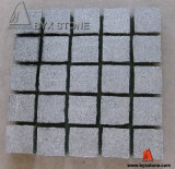 Natural G654 Flamed Granite Paving Cube Stone for Decoration