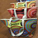 Promotion Reusable Beach Tote Bag Cotton Canvas Bag with Zipper