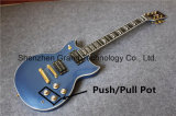 Metrial Blue Finish Sg Custom Push/Pull Electric Guitars