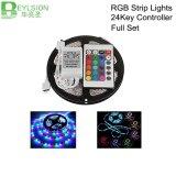 5m DC12V RGB LED Strip Waterproof 5050 SMD LED Light