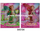 Hot Sale Plastic Toys for Girl Fairy Butterfly Solid Joint Winx Doll (845194)