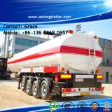 China Manufacturer Tri Axle Oil Tanker Trailers / 50000 Liters Fuel Tank Semi Trailer / Gasoline Transport Tank Trailer
