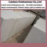 New Material Polished Big Slab Chinese Snow White Marble