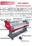 Audley Ce Electric Single Side Hot 1600mm Laminator Price Adl-1600h1 Hot & Cold Model