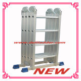Heavy Version Aluminum Multi-Purpose Ladder 4X4 (DLM204)