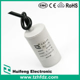 Cbb60 AC Motor Run Cable 450V 250V Film Capacitor