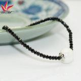 Spb-001 New Fashion Bracelet Black Super Flash Spinel Bracelet Germanium Bracelet