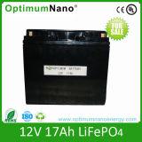 12V 17ah High Power LiFePO4 Battery for UPS