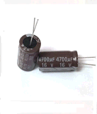 Specially Designed for LED Drives Aluminum Electrolytic Capacitor (105c 6000~8000 Hours)