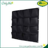 Onlylife High Quality Felt Fabric Hanging Grow Bag Vertical Planter